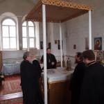 Владыка в храме Арх. Михаила